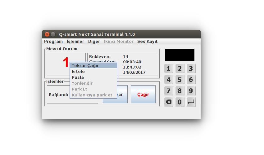 Q-smart Sanal Terminal