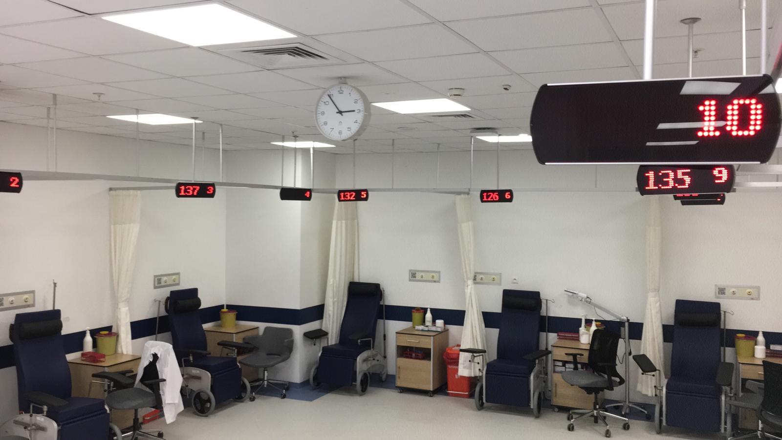 şehir hastanesi kan alma sıramatik ekran