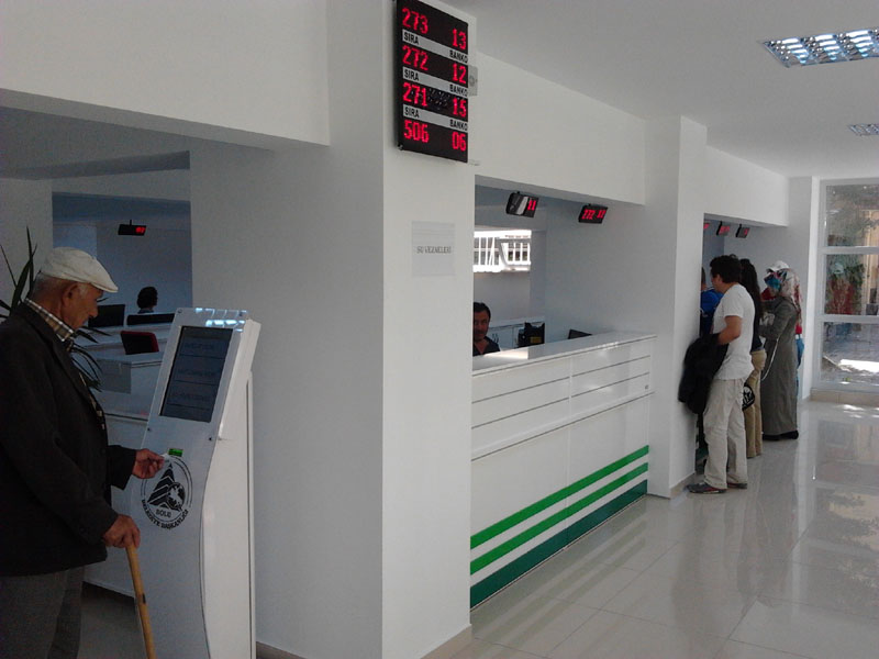 Bolu Belediyesi Sıramatik Sistemi