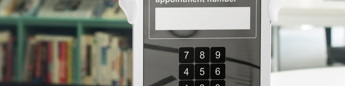 cloud appointment system tablet screen