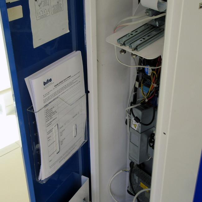 filebox kiosk evrak rafı kiosk içi