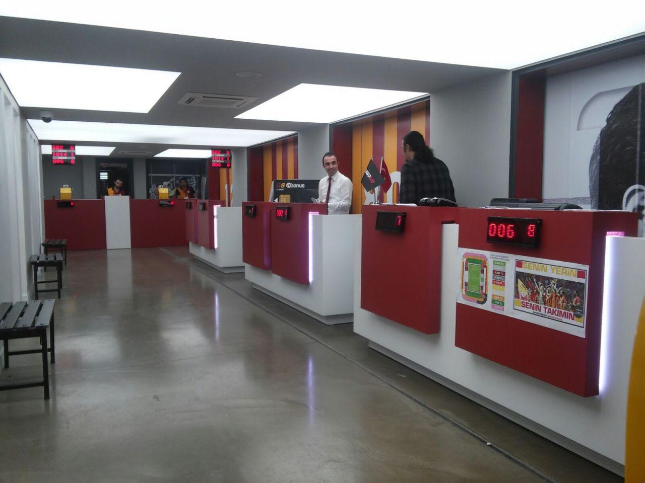 GS Store Mağaza Sıra Sistemi