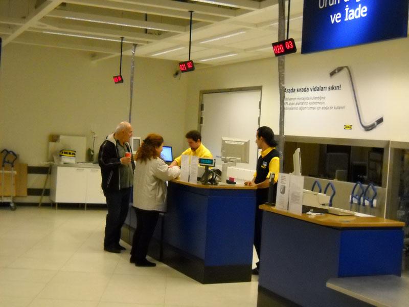 Ikea Mağazaları Sıramatik Sistemleri Q Smart Sıramatik Sistemi