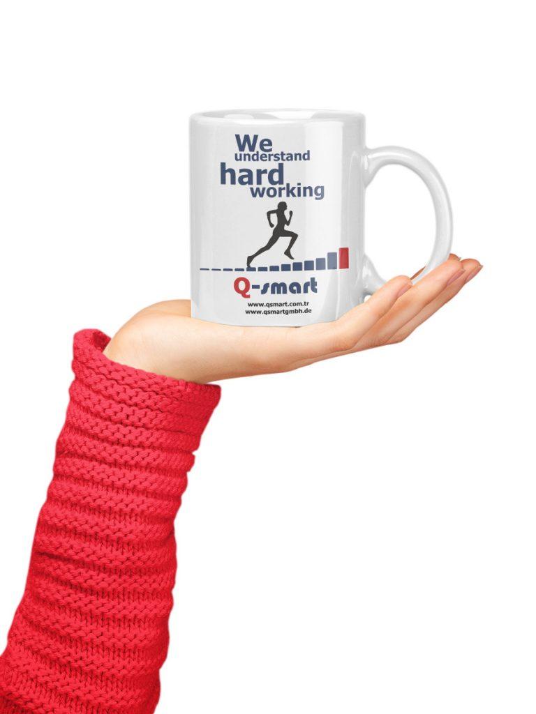qsmart sıramatik kahve kupası