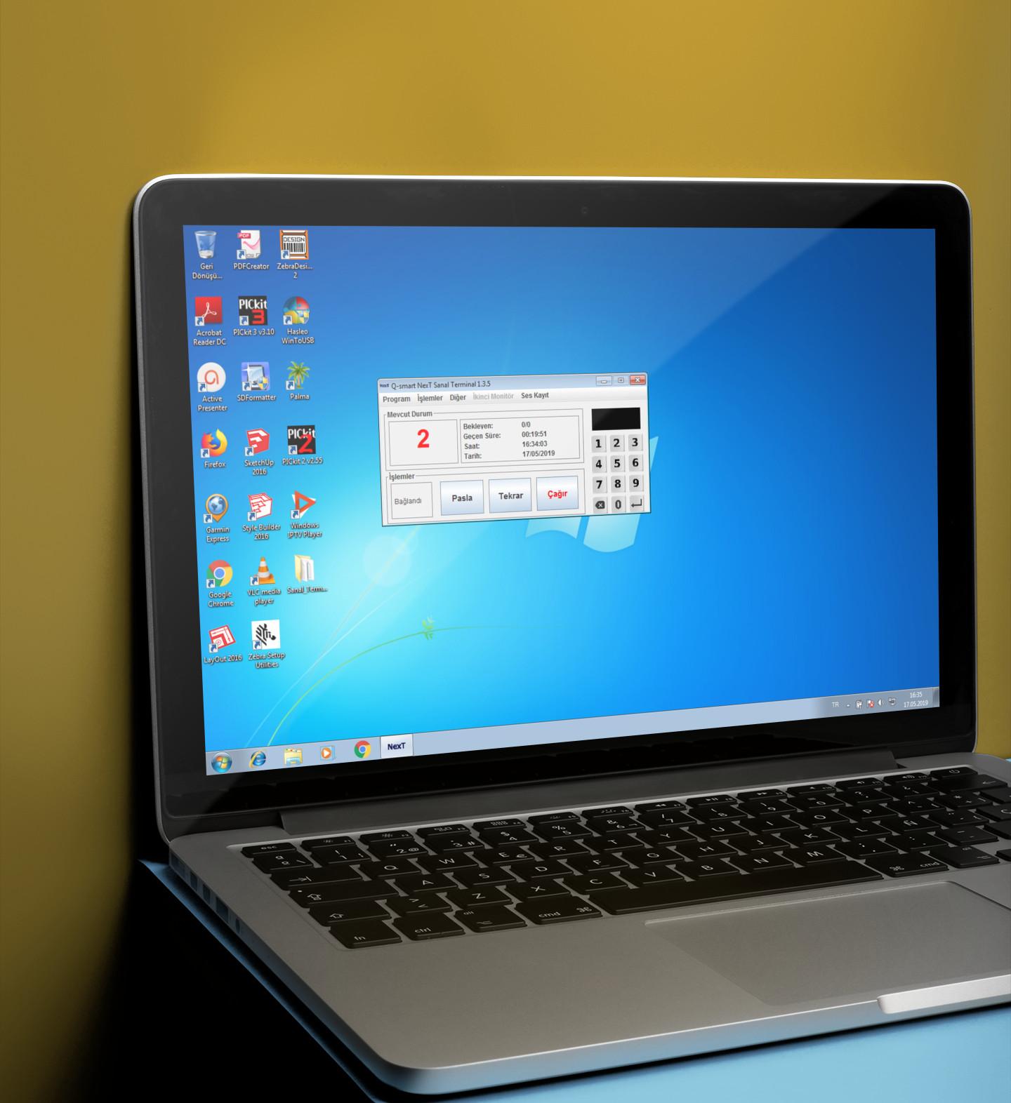 sıramatik bilet çağırma uygulaması mac windows