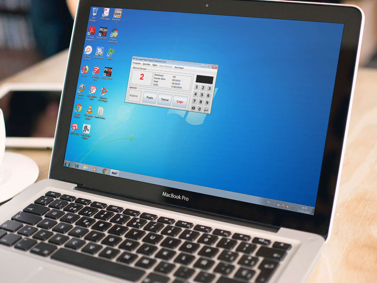 sıramatik sanal terminal macbook pro siyah