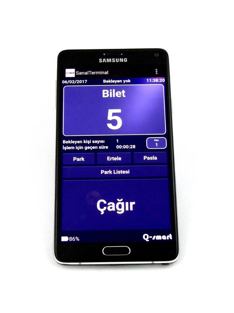 Q-smart Android Kablosuz Çağrı Terminali