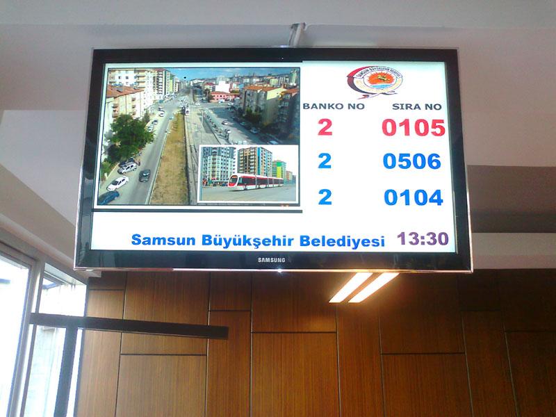 Çözüm Merkezi LCD TV Sıra Sistemi