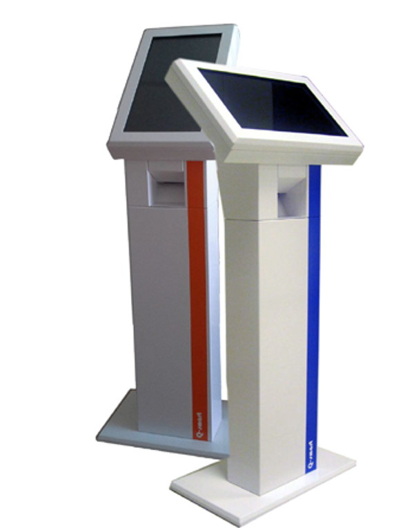 Q-smart D2 19inç bilet makineleri