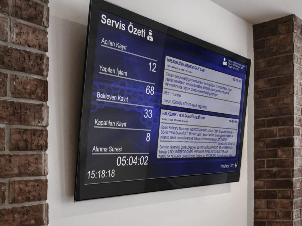 sıra sistemi teknik servis