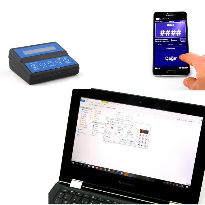Q-smart Sıramatik Sistemi Terminaller