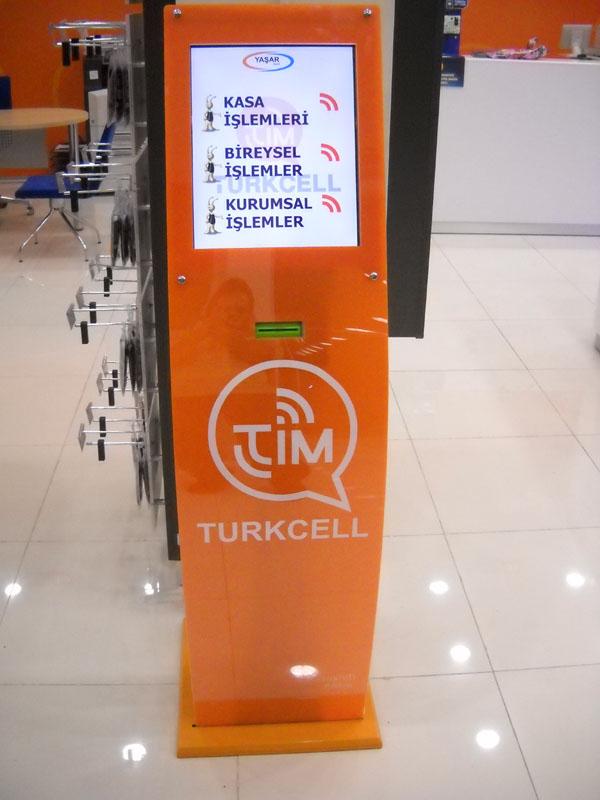 Turkcell Sıramatik Kiosk