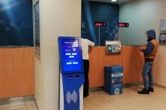 halkbank sıramatik sistemi kiosk