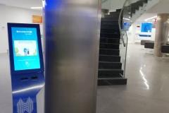 Halkbank sıramatik sisemi bilet makinesi